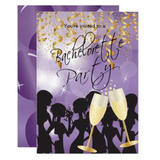 紫色のバチェロレッテ カード