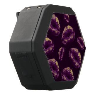 紫色のバニラ粋な唇 ブラックBluetoothスピーカー