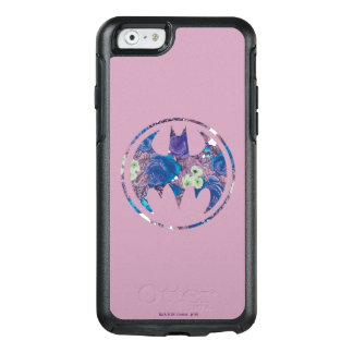 紫色のバラのこうもり信号 オッターボックスiPhone 6/6Sケース