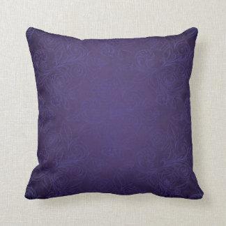 紫色のバラの枕 クッション