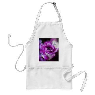 紫色のバラ スタンダードエプロン