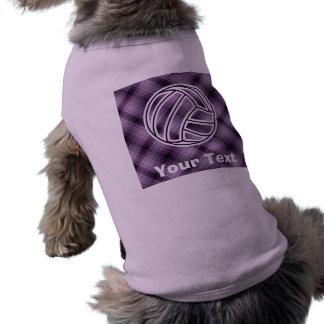 紫色のバレーボール ペット服