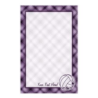 紫色のバレーボール 便箋