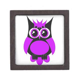 紫色のパンクのフクロウの優れたギフト用の箱 ギフトボックス