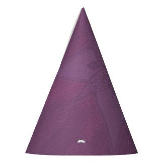 紫色のパーティの帽子 パーティーハット