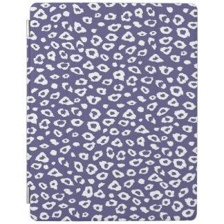 紫色のヒョウのプリント iPadスマートカバー