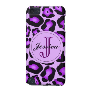 紫色のヒョウの電話箱 iPod TOUCH 5G ケース