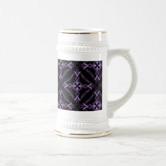紫色のビクトリアンなゴシック様式 ビールジョッキ