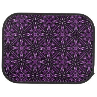 紫色のビクトリアンなフラクタルパターン カーマット