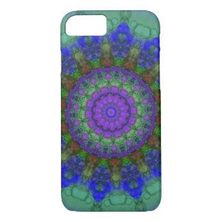 紫色のファンタジーの曼荼羅のiPhone 7の箱 iPhone 7ケース