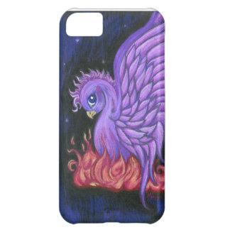 紫色のフェニックスのiPhone 5の箱 iPhone5Cケース