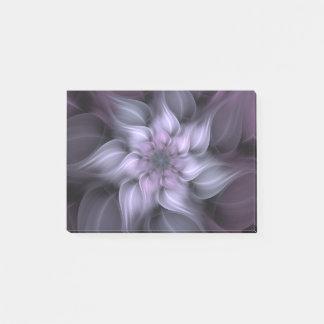 紫色のフラクタルの花 ポストイット