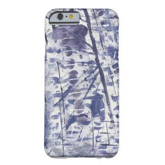 紫色のブロックの抽象的なIphoneの場合 Barely There iPhone 6 ケース