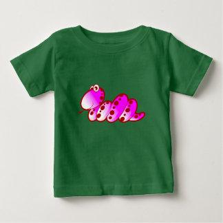 紫色のヘビ ベビーTシャツ