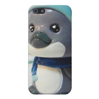 紫色のペンギンI iPhone 5 CASE