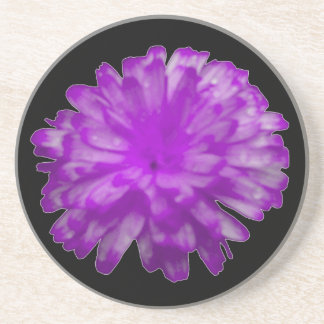 紫色のマリーゴールドのコースター コースター