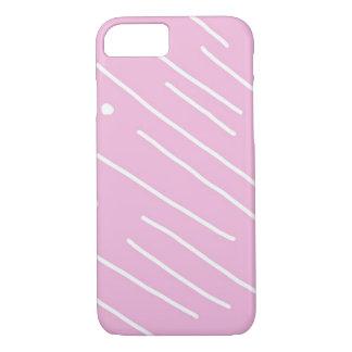 紫色のモダンなiPhoneの箱 iPhone 8/7ケース