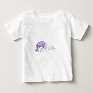 紫色のヤドカリ ベビーTシャツ
