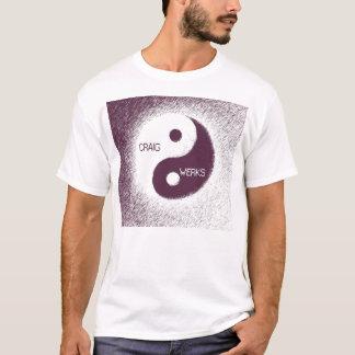 紫色のヤン Tシャツ