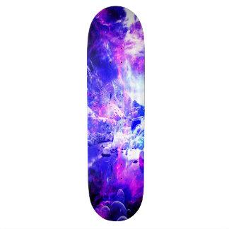 紫色のユール(キリスト降誕祭)夜夢 21.6CM スケートボードデッキ