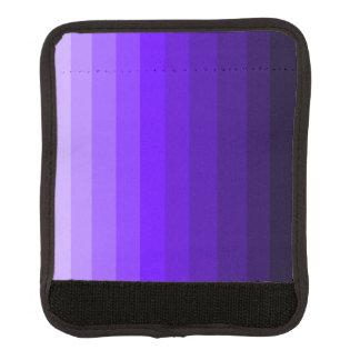 紫色のラゲージハンドルラップの陰 ラゲッジ ハンドルラップ