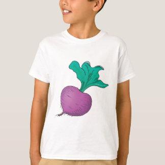 紫色のラディッシュ Tシャツ