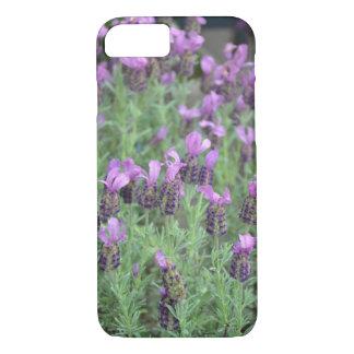 紫色のラベンダーによってはiphoneの箱が開花します iPhone 8/7ケース