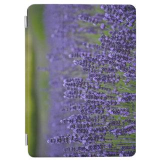 紫色のラベンダーの花園 iPad AIR カバー