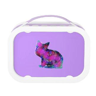 紫色のランチボックス ランチボックス
