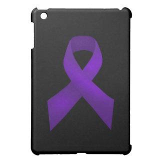 紫色のリボンの認識度のループス iPad MINIケース