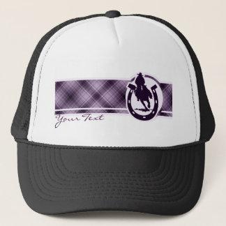 紫色のロデオ キャップ