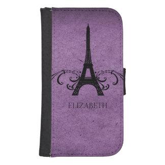 紫色のヴィンテージのフランス人の華麗さ