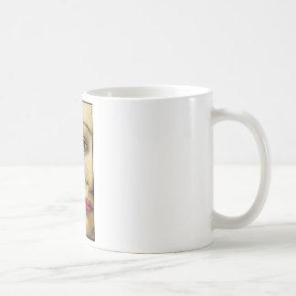 紫色のヴィーナス コーヒーマグカップ