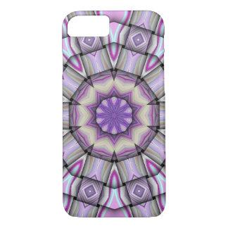 紫色の万華鏡のように千変万化するパターンのiPhone 7の箱 iPhone 8/7ケース