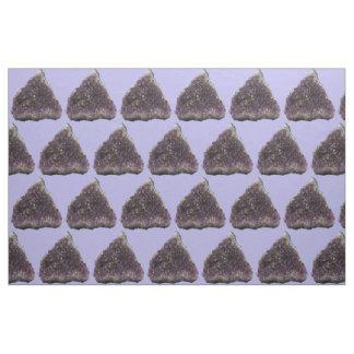 紫色の三角形の生地 ファブリック