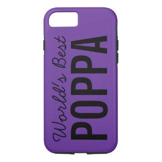 紫色の世界で最も最高のなPoppaのカスタムなiPhone 7の場合 iPhone 8/7ケース