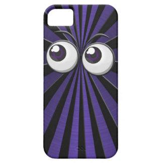 紫色の人々の食べる人 iPhone SE/5/5s ケース