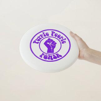 紫色の人々力 Wham-Oフリスビー