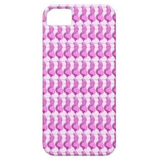 紫色の人魚パターン箱 iPhone SE/5/5s ケース