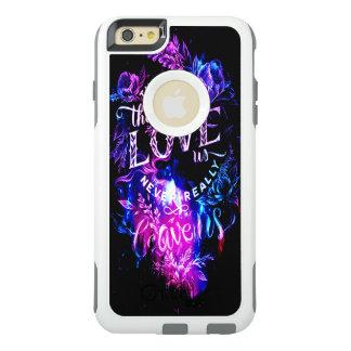 紫色の冬の空私達を愛する物 オッターボックスiPhone 6/6S PLUSケース