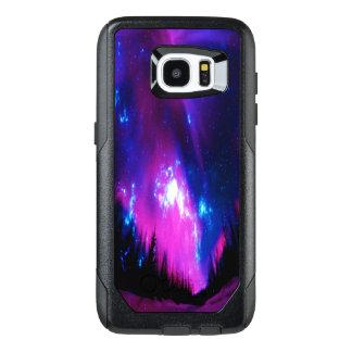 紫色の冬の空 オッターボックスSamsung GALAXY S7 EDGEケース