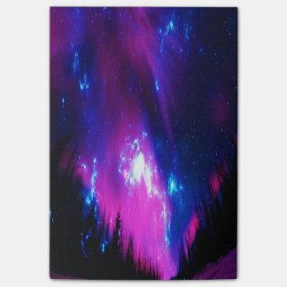 紫色の冬の空 ポストイット