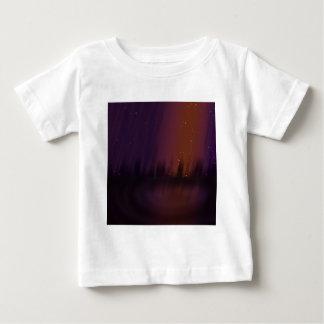 紫色の劇場 ベビーTシャツ