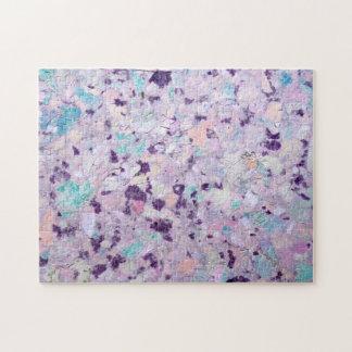 紫色の包装紙 ジグソーパズル