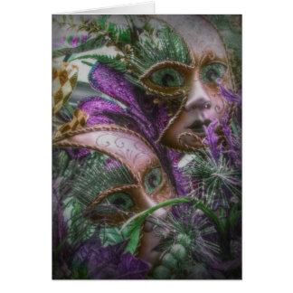 紫色の双生児 カード