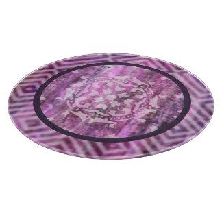 紫色の古さび: 曼荼羅 カッティングボード