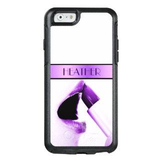 紫色の唇および口紅 オッターボックスiPhone 6/6Sケース