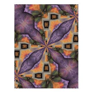 紫色の喜び ポストカード