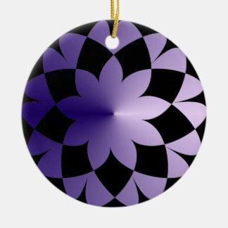 紫色の夢 セラミックオーナメント