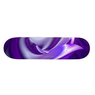 紫色の夢、抽象的なファンタジーの虹芸術 スケートボード